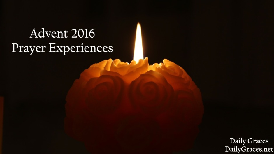 Daily Advent Prayer Experiences for 2016 by DailyGraces.net